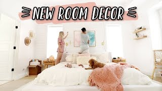 NEW BEDROOM MAKEOVER + ROOM DECOR!!