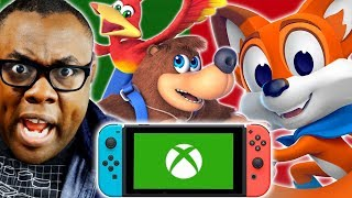 MORE Xbox Games on Nintendo Switch? What Games Should Be Next? | Black Nerd