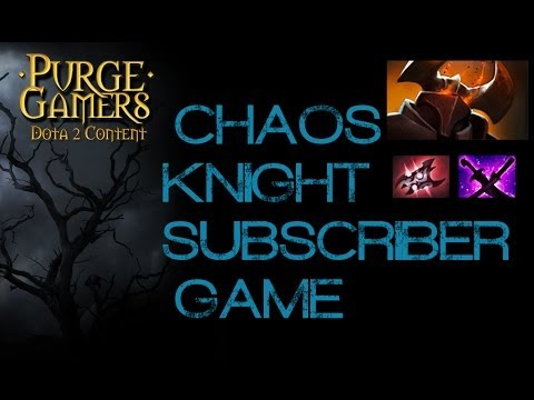Dota 2 Chaos Knight Twitch Sub Game