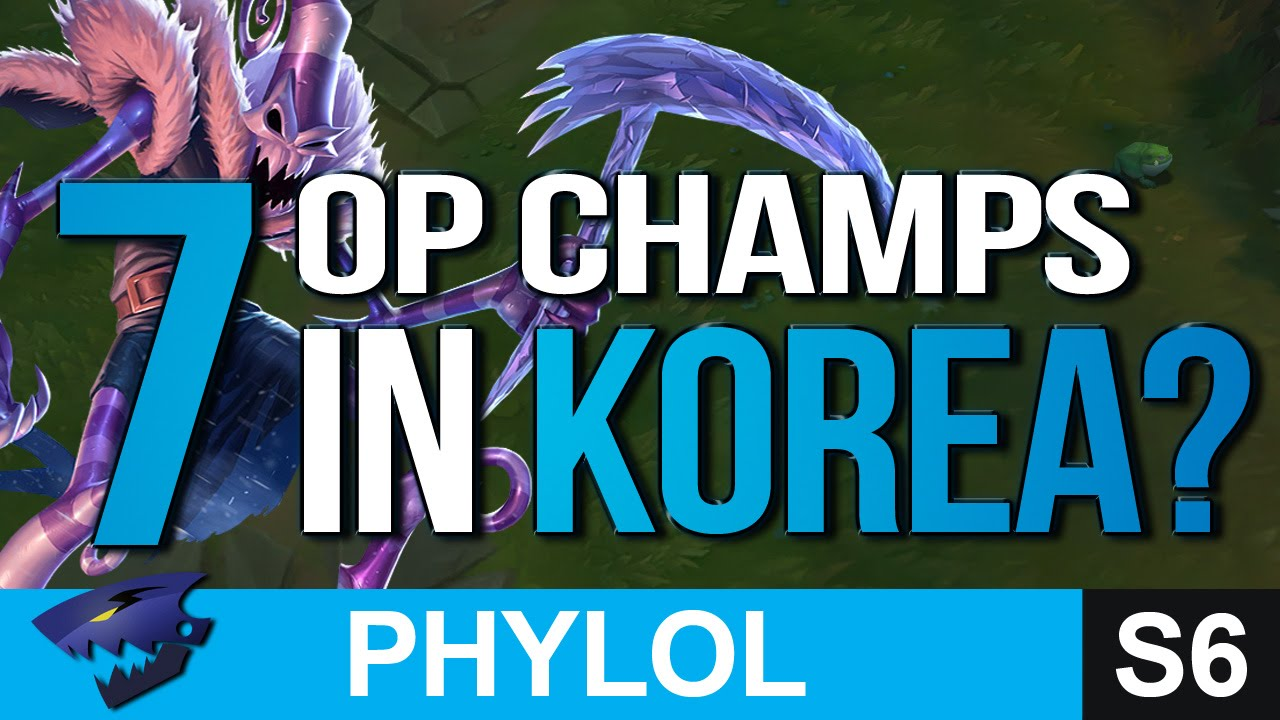 7 KOREAN OP PICKS SO FAR IN PATCH 6.9 - Builds & Masteries etc (League of Legends)
