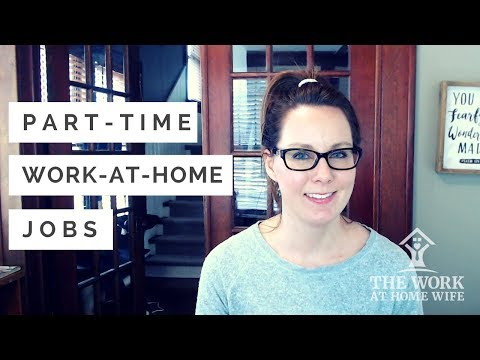 Work from Home Part-Time: Earn Extra Money In Your Free Time
