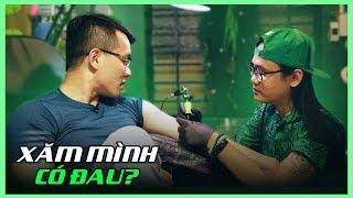 GIA HUY VLOG - Xăm mình lần đầu thì cần lưu ý điều gì? (Getting tattoo in Saigon)