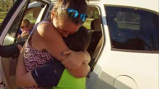 10-Year-Old Reunites With Mom After Disappearing During Hurricane Michael