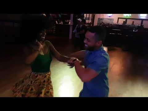Cesar Perez & Julie Banks- -Salsa