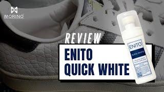 [Cách làm sạch giày] Làm trắng đế Super Star ố vàng ngay tại nhà đơn giản bằng Enito Quick White