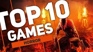 TOP 10 HORRIFYING Games 2018 | Pure Horror  | New Releases