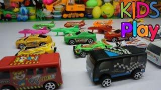 Đồ chơi trẻ em Bộ sưu tập o to và máy bay đồ chơi - Toys for kids
