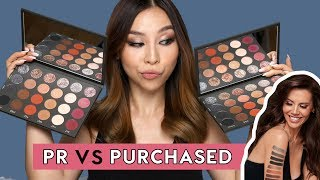 PR VS PURCHASED - TATI BEAUTY PALETTE | Tina Tries It