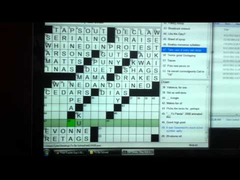 Thursday February 21 2013 New York Times Crossword Puzzle