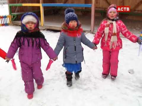 Масленица детский сад Калинка с.Аскиз 16.02.18