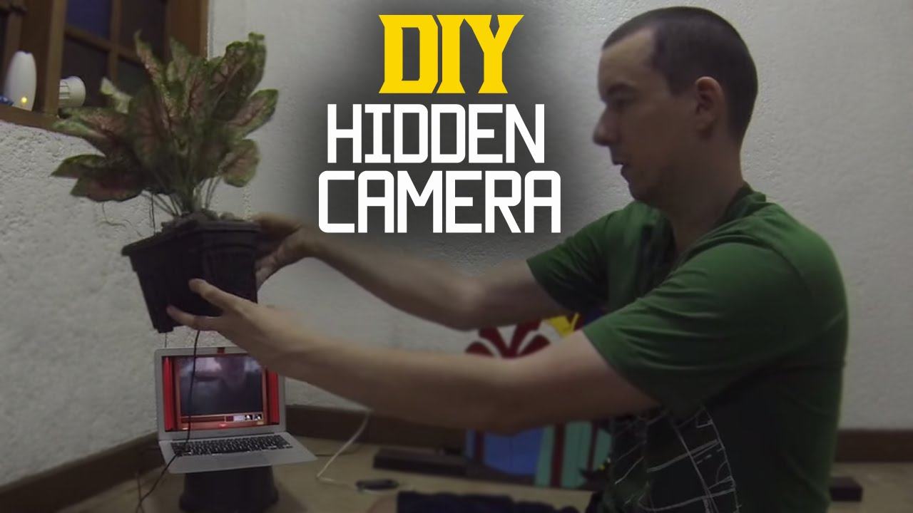 Diy Hidden Camera Hidden Security Camera Diy