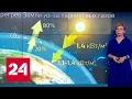 """""""Погода 24"""": процесс глобального потепления ускоряется"""