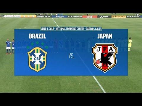 Livestream: 2015 Under-20 Women's NTC Invitational: Brazil vs. Japan