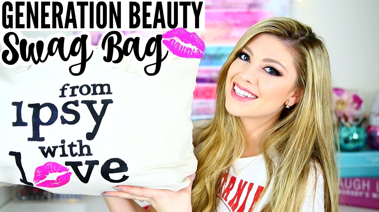WHAT I GOT IN MY IPSY GENERATION BEAUTY LA 2016 SWAG BAG!