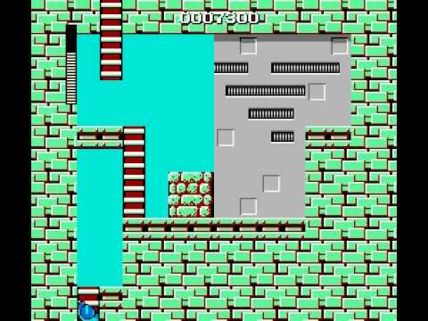 Mega Man - Mega Man cut man stage walh trough- Nintendo NES - Vizzed.com Play - User video