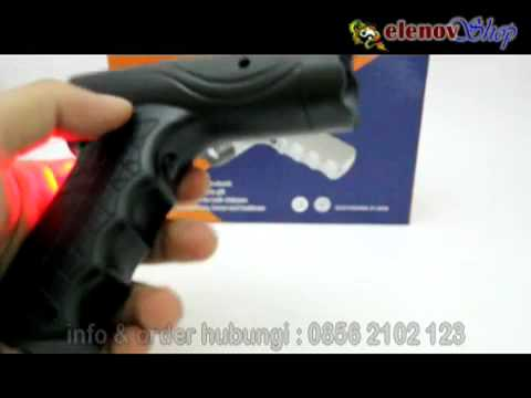 Senjata Kejut Listrik Bentuk Pistol Stungun Tipe 1203