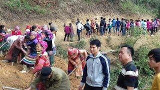 Tsav Tsheb Ncig Zos Hmoob Toj Siab | Drive To Visit Special Villages