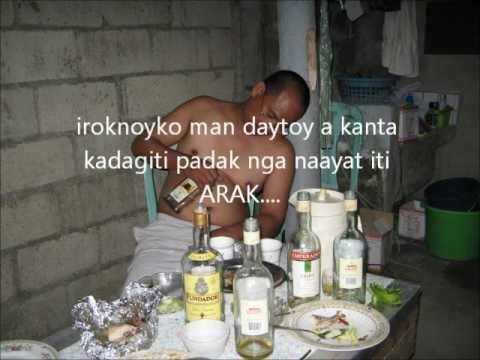 Naglemmesak Iti Arak (ilocano Song) Karaoke With Lyrics video