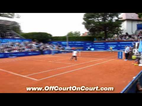 Wozniacki losing to 12-14 year-olds PEKAO OPEN Szczecin 2011