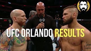 UFC Orlando Results: Jeremy Stephens vs. Josh Emmett | Post-Fight Special | Luke Thomas