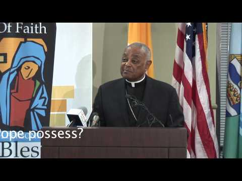 Archbishop Gregory talks about the qualities of next pope
