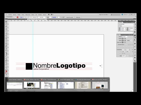 Tutorial Adobe Illustrator // Acotando Logotipos