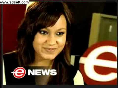 Jasmine Richards on E Talk, Canada on Shenae Grimes Video