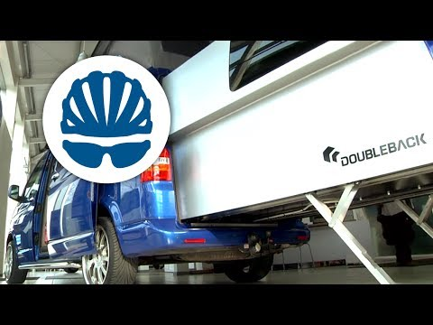 VW T5 California Campervan DoubleBack sports extension vehicle