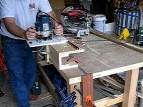 my mortise jig in action part 1
