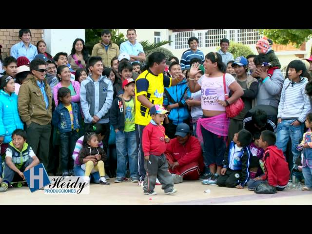 Cómicos del centro 2014 / 2 de 6 - No al bullying - Wankas y huanacos de la risa  2014