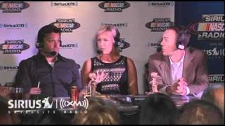 DeLana Harvick Accepts Joey Logano's 2010 Stewie Award // SiriusXM