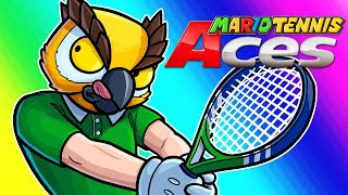 Mario Tennis Aces Funny Moments - Vanoss's First Switch Game!!