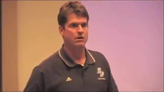 Jim Harbaugh 2006 Speech