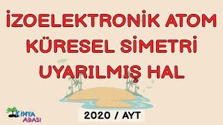6-İzoelektronik-Küresel Simetri-Uyarılmış Hal-Değerlik Elektron Sayısı