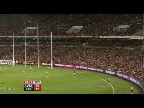 AFL 2009 Elimination Final Adelaide Vs Essendon