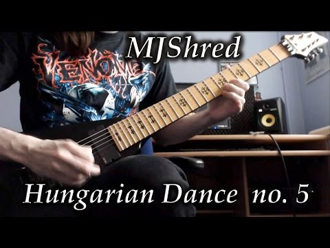 Брамс Иоганнес - Hungarian Dance No 5 Metal Version
