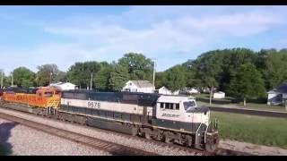 Lenexa Train Depot HD drone video with sound