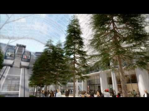 San Francisco Transbay Transit Center Animation