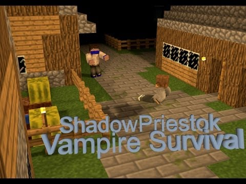 Вампиры в Minecraft: Мини Игры