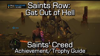 Saints Row: Gat Out of Hell - Saints' Creed Achievement/Trophy Guide