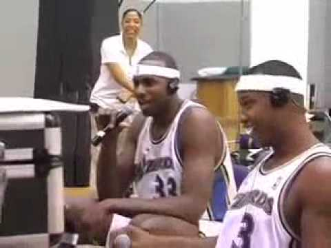 Mike Wise Raps for Caron Butler and Brendan Haywood