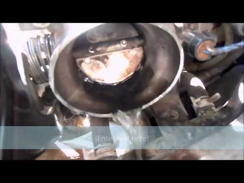 Chevy 3.4/3.8 Liter V6 - POURING GAS OUT OF THROTTLE BODY