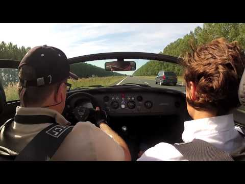 Testdrive in the Donkervoort D8 GTO