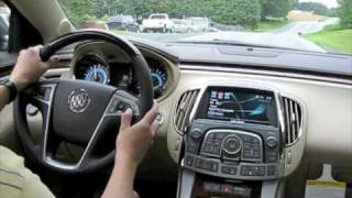 Test Drive The All New 2010 Buick LaCrosse CXS 3.6
