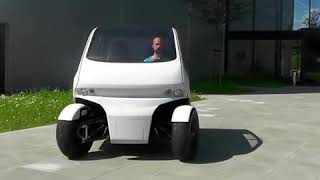 This is the robotic smart car of the future.