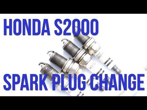 Honda S2000 NGK Spark Plug Change Tutorial