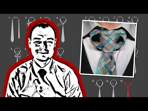 How to Tie the Linwood Taurus Necktie Knot