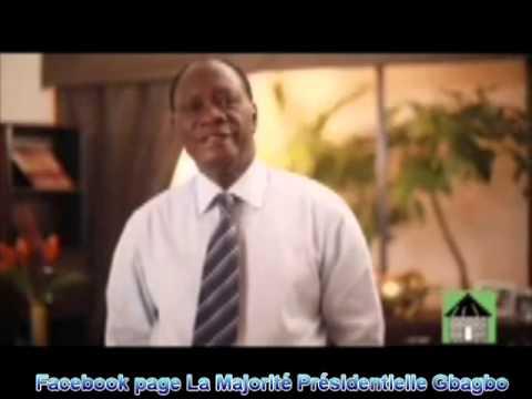 Nouveau spot d'Alassane Ouattara