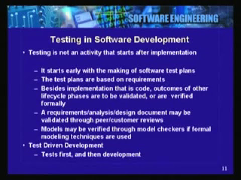 Lecture - 18 Software Testing - I
