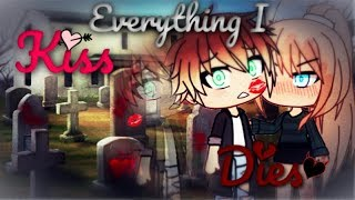 The Girl That Killed Everything She Kissed | Gacha Life Mini Movie | GLMM